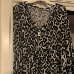 MK tunic blouse